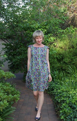 Malvarosa Dress in Liberty of London Ranga
