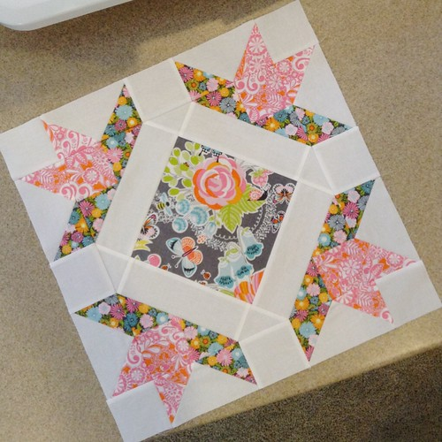 Field Day quilt block - c