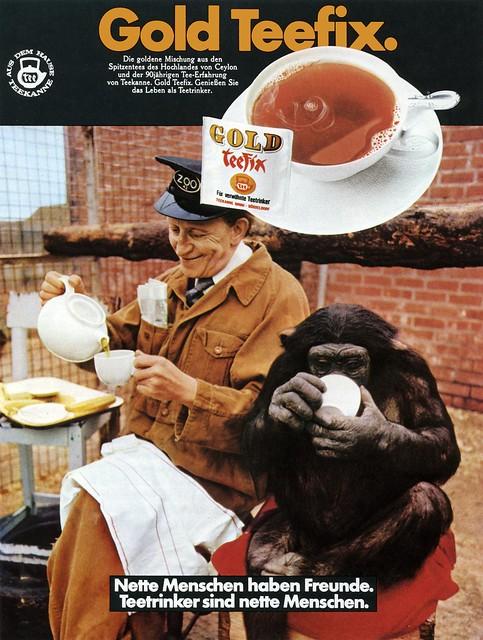 R.W. Eggert Werbeagentur (Düsseldorf, DE) Nagel (Lutz, DE - CD) 1973 Gold Teefix Anzeige