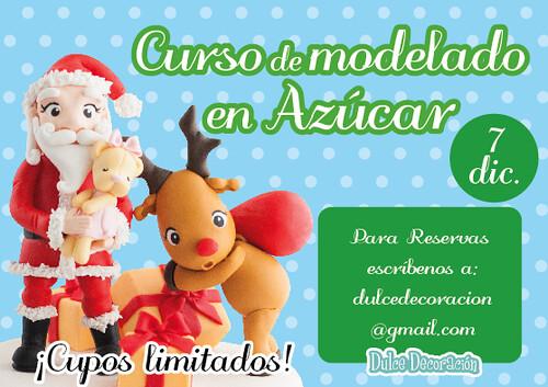 Curso modelado navideño 7 diciembre