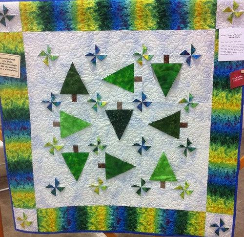 Trees of Turlock~ Quilt by Jeanne Brophy