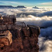 Grand Canyon National Park Cloud Inversion: November 29, 2013 by Grand Canyon NPS
