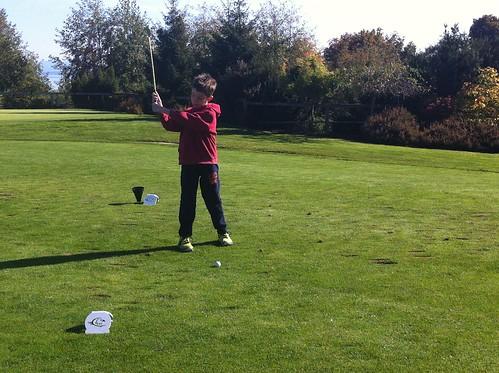 Golf Lesson 2013