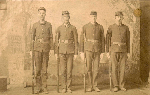 1890s Lawrence S Wisner Army