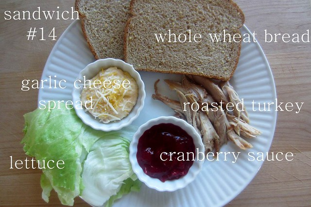 sandwich #14: turkey & cranberry
