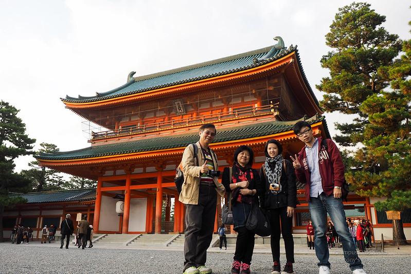 白川、平安神宮 | 京都