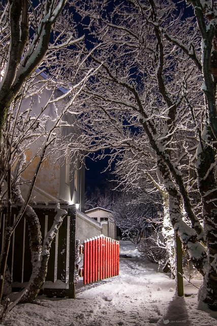 Cosy winter atmosphere
