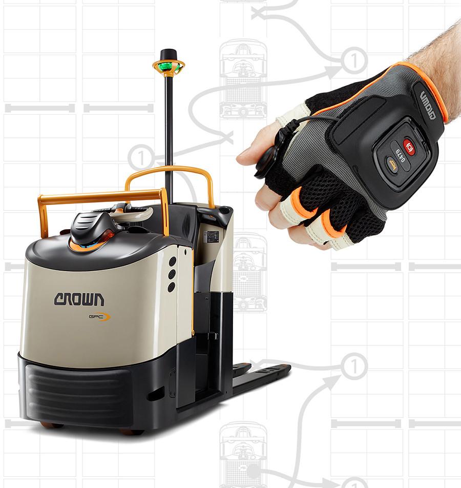 QuickPick Remote es una tecnología compatible con los recogepedidos de la serie GPC 3000 de Crown