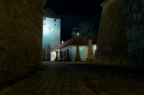 Kuressaare Castle by hanspoldoja