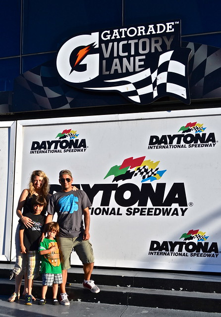 Victory Land at Daytona International speedway