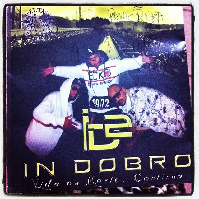 #cd @RineaBV #exracionaisMc #GrupoInDobro Glória a Deus! #rap