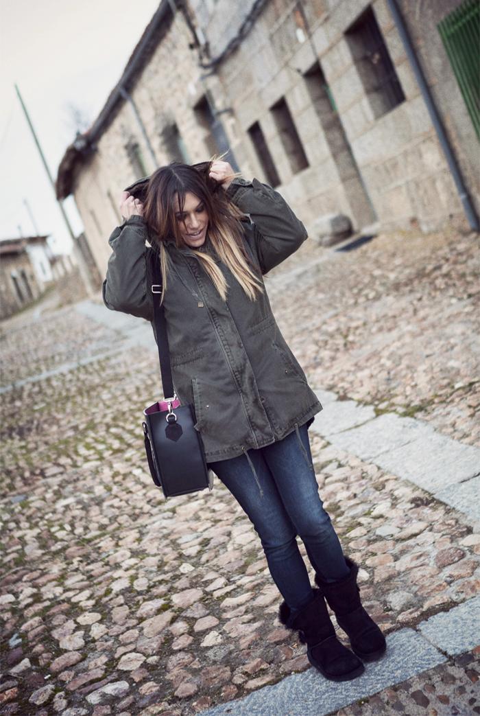 street style barbara crespo bonilla avila travels xmas christmas 2013 village fashion blogger outfit