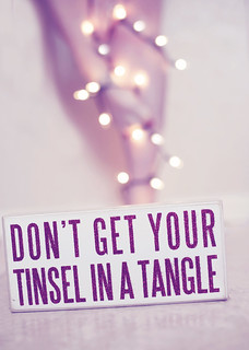 day 12 don't get your tinsel in a tangle