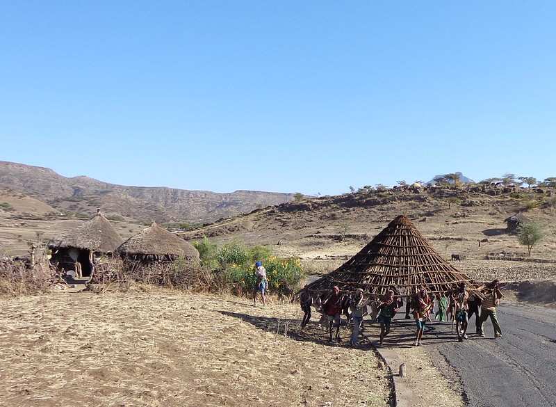 Moving House - near Lalibela