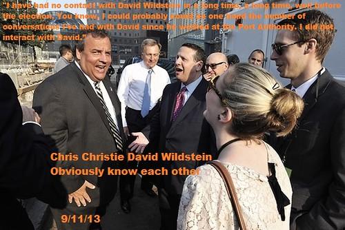 Chris Christie & David Wildstein