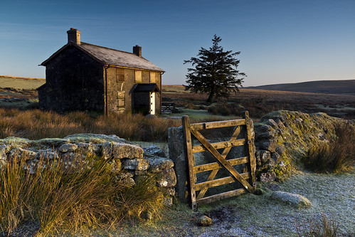 sunrise frosty devon dartmoor nunscrossfarm