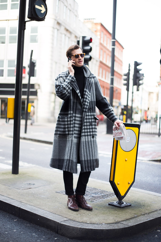 Street Style - Laurie, London Collections: Men