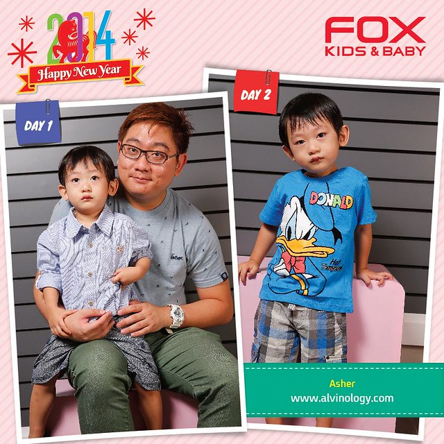 Chinese New Year Shopping with Asher @ FOX Kids & Baby  - Alvinology