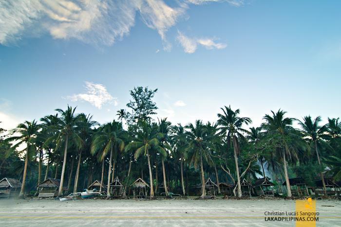 Jawili Beach at Tangalan, Aklan