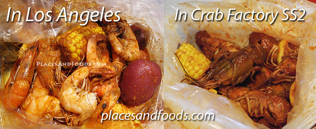 crab factory los angeles comparison