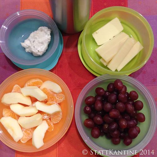 Stattkantine 13.02.14 - Käse, Quark, Obst