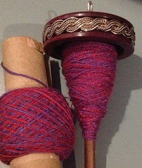 silk plying spindle