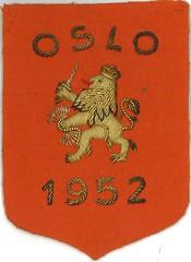 Nederlands embleem Oslo 1952 /Dutch emblem Oslo 1952