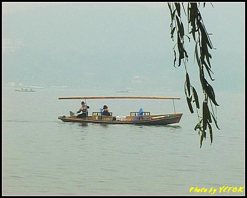 杭州 西湖 (其他景點) - 586 (西湖十景之 柳浪聞鶯 西湖上的小遊船)