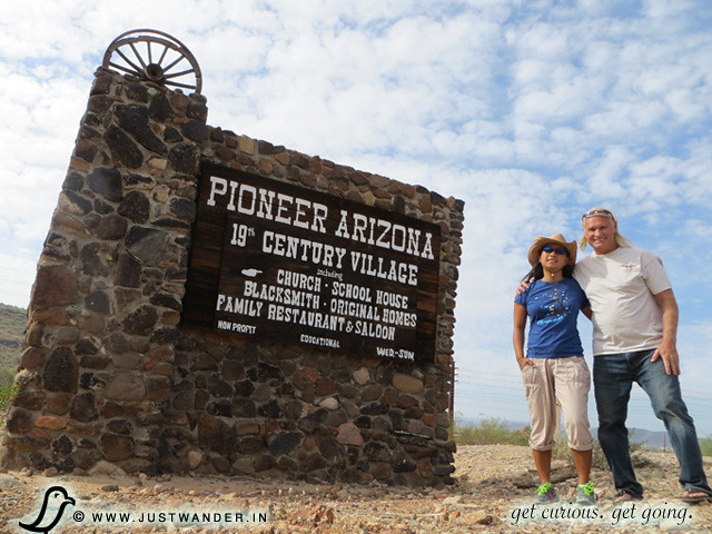 PIC: Pioneer Living History Village - sign