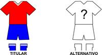 Uniforme Selección General Aquino de Fútbol