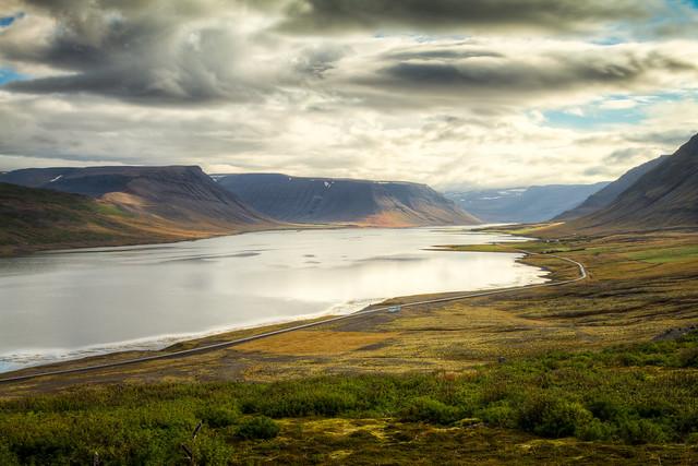 Above Dýrafjörður