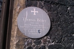 Photo of Thomas Bilney grey plaque