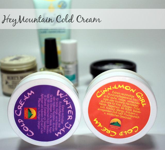 HeyMountain cold Cream