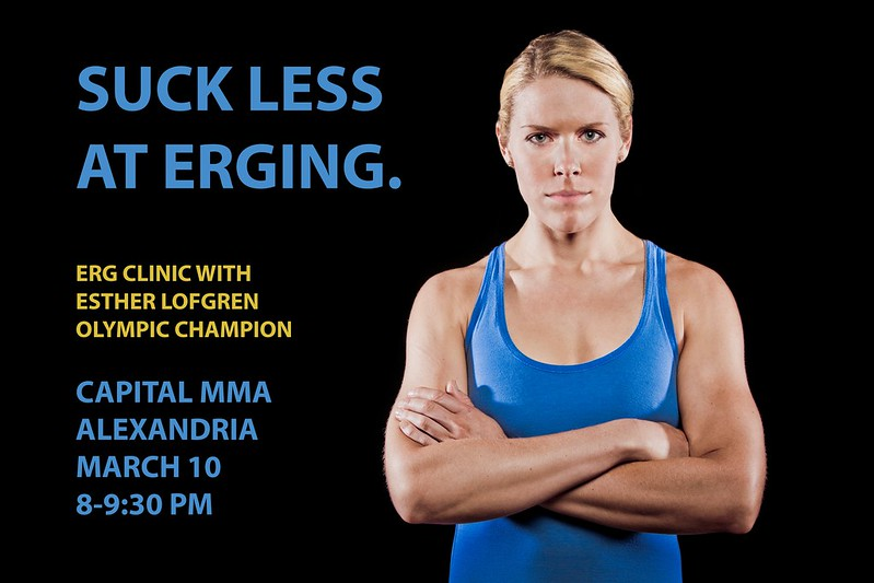 FREE ERG Seminar with Olympic Gold Medalist Esther Lofgren		 (Demo)