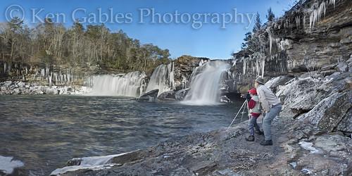 waterfall winterscenery littleriverfalls littlerivercanyonnationalpreserve dekalbcountyalabama