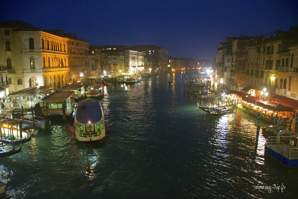 visiter venise grand-canal-venise-nuit
