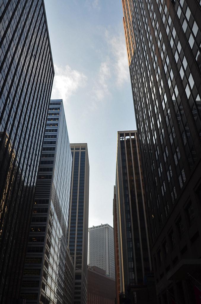 Rascacielos de Wall Street