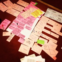Changed days @MoysBit - It's to be only me making this kind of mess on the floor! #ServiceDesign