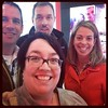 #huntLibrary with the peeps! #ncties14