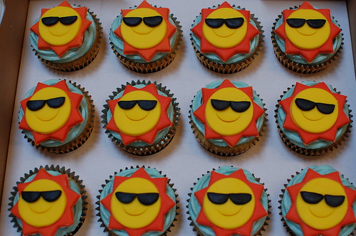 Sunshine Cupcakes Beautiful Birthday Cakes