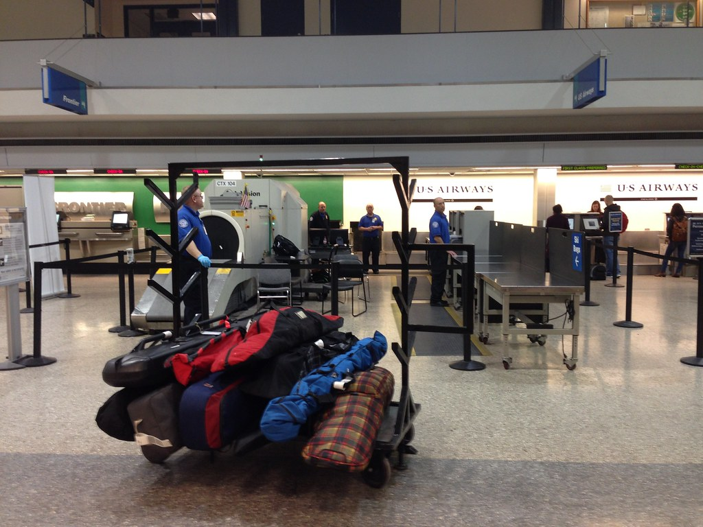 Ski bags for check-in