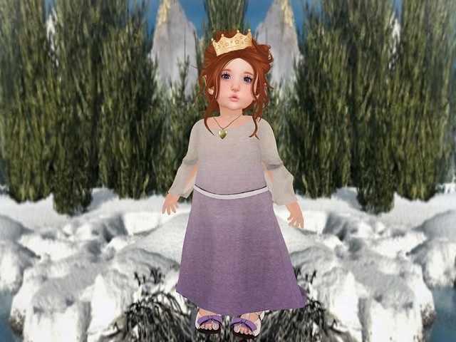 Tiny Tiara's Bowtique  Lil' Queen Dress & Matching Shoes