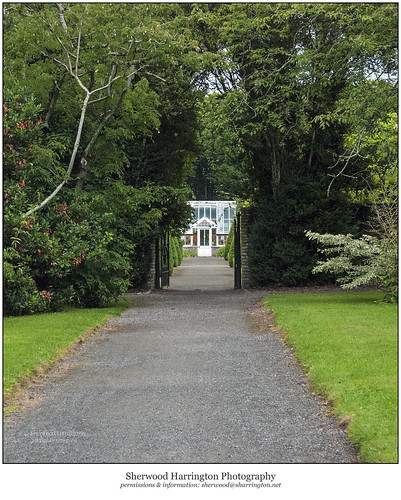 ireland offlay birrcastledemesne gardens glasshouse gate
