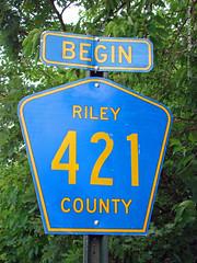 Begin County Rd 421, 23 June 2016