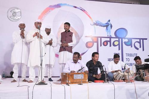 Marathi devotional song by Devi Dass Gedham and Saathi