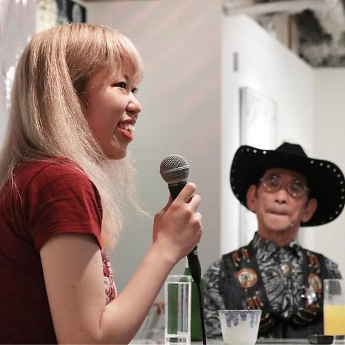 吉元さんのお嬢さんだったのか。今回はキュレーターとして参加。
