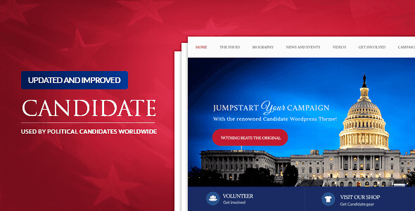 Candidate WordPress Theme free download
