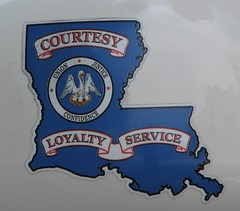 Louisiana State Police - decal