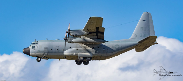 US Navy C130 Hercules