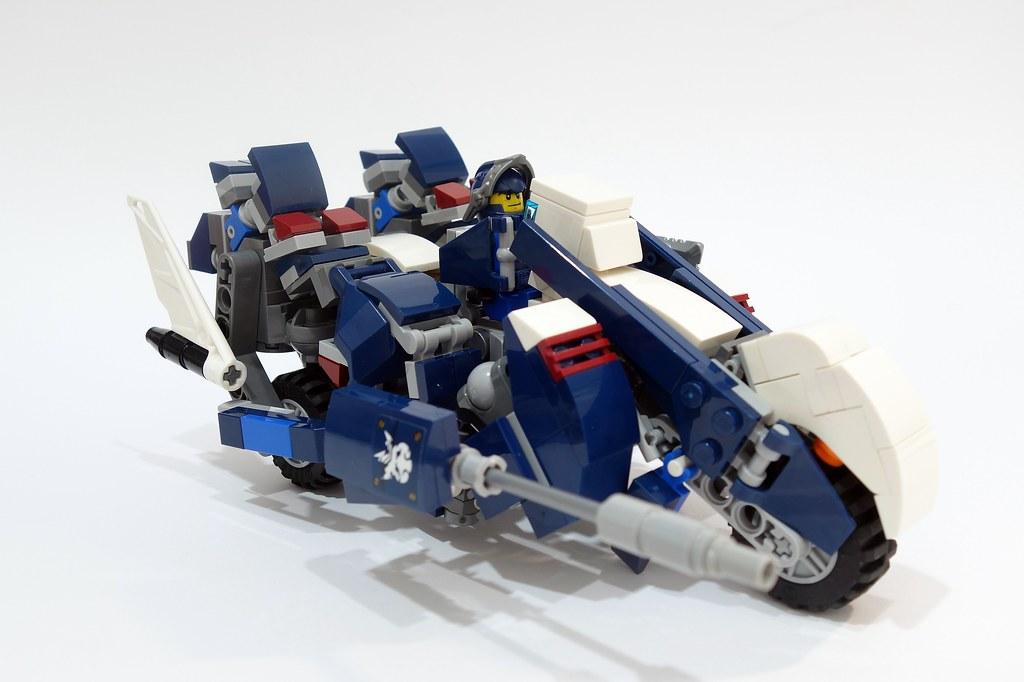 hexaliger (custom built Lego model)